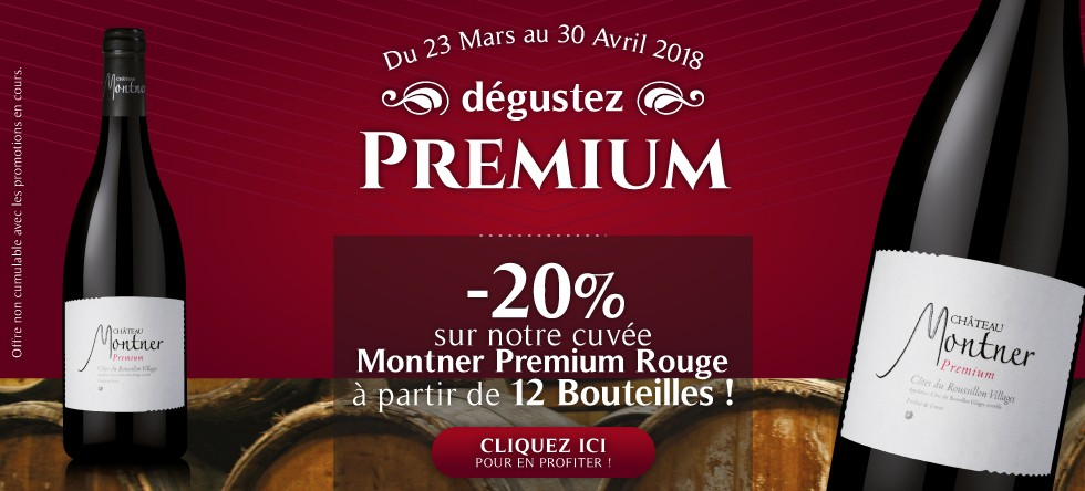 Agly - Montner premium rouge