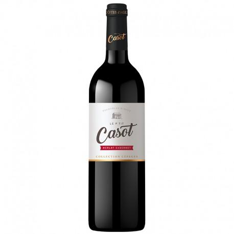 Le P'tit Casot - Merlot Cabernet - IGP Pays des Côtes Catalanes